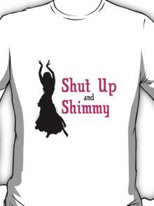 Bellydance zip up hoodie american apparel geek funny nerd T-Shirt