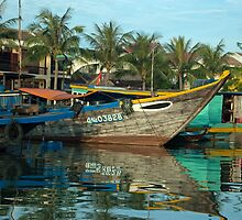 Hoi An Colourful River by AJM71