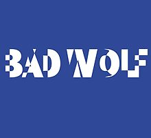 BAD WOLF - THE DOCTOR by missemilyellen