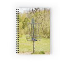Disc Golf Basket 7 Spiral Notebook