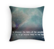 Limits Of The Possible Throw Pillow