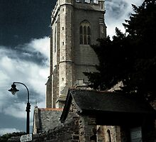 The Church on the Hill by Catherine Hamilton-Veal  ©
