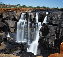 King George Falls, Kimberley Region, Western Australia by Steve Fox