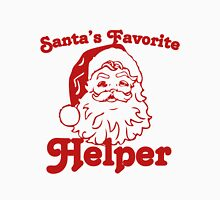Santas favorite helper Womens Fitted T-Shirt