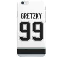 Los Angeles Kings Wayne Gretzky Jersey Back Phone Case iPhone Case/Skin