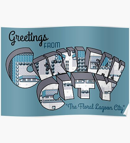 Greetings from Cerulean City Poster