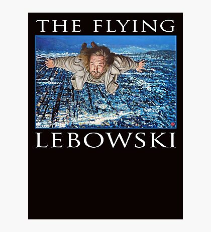 The Flying Lebowski Photographic Print