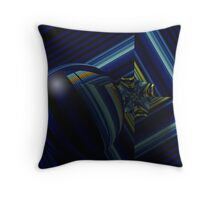 Chasing Shapes Throw Pillow