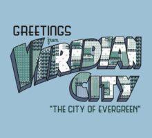 Greetings from Viridian City Kids Tee