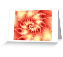 Coral Touch Greeting Card