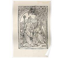 Opera Hrosvite, Illustrious virgin nun and genuine Albrecht Durer 1501 0014 Poster