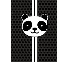 Racing Panda Photographic Print
