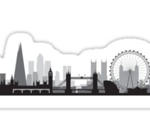 The London BIG Skyline Sticker