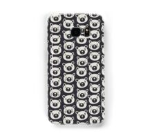 Sad Bears Black & White Pattern Samsung Galaxy Case/Skin