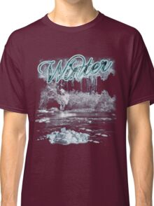 Winter T Shirt - Frost And Ice Classic T-Shirt