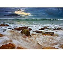Morning Surf - Diamond Head Photographic Print