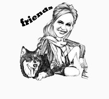 BEST FRIENDS/ T-SHIRT Womens Fitted T-Shirt