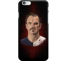 The thin line between... iPhone Case/Skin