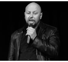 Darren Brinkworth - Comedian Photographic Print