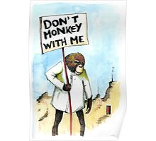 It's the monkey in me Poster
