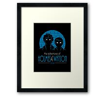 The Adventures of Holmes and Watson Framed Print