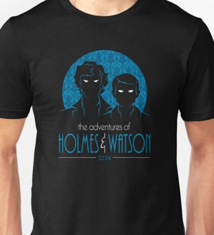 The Adventures of Holmes and Watson Unisex T-Shirt