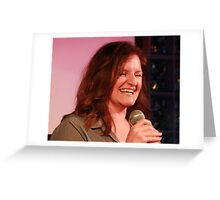 Kate Burr - Comedian Greeting Card