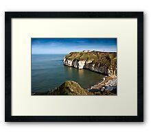 Thornwick Bay Framed Print