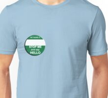 The Inbetweeners - Your own Big Gay Green badge Unisex T-Shirt