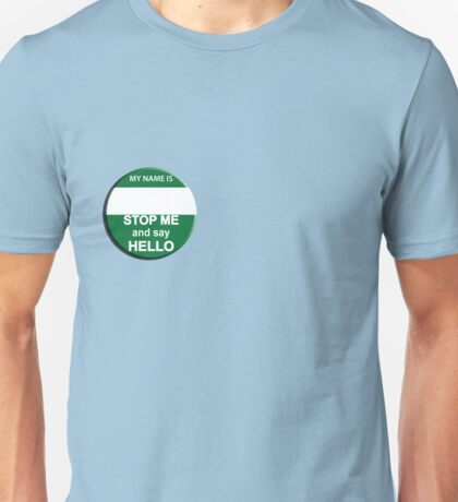 The Inbetweeners - Your own Big Gay Green badge Unisex T-Shirt