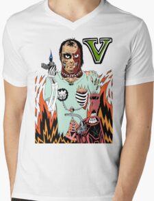 GTAV - ZOMBIE TREVOR Mens V-Neck T-Shirt