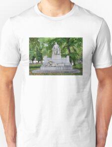 Johannes Brahms Memorial, Vienna Austria T-Shirt