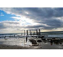 Port Willunga Jetty Ruins Photographic Print