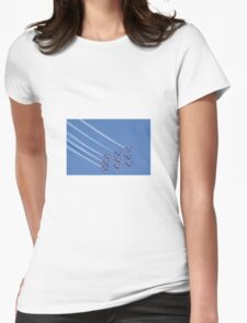 Air show Womens Fitted T-Shirt