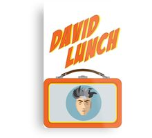 DAVID LUNCH by burro Metal Print