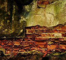 Brick wall by farcaphoto