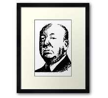 Alfred Hitchcock by burro Framed Print
