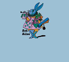 Alice in Wonderland - The White rabbit one - Ask Alice Unisex T-Shirt