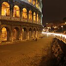 Tiny Colosseum People by Angela  Waite