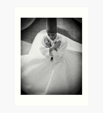 Whirling Dirvish Art Print