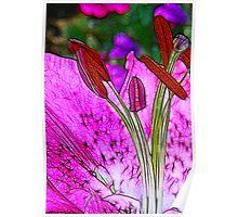 Fractalius Flower Poster