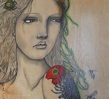 Tattoo Girl by Gillienne Castillo