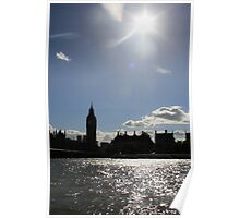 Big Ben, River Thames Poster