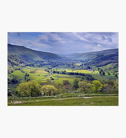 Wharfedale - The Yorkshire Dales Photographic Print