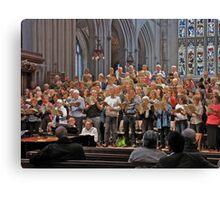 Choir Practice Canvas Print