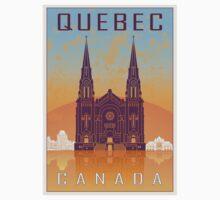 Quebec vintage poster T-Shirt