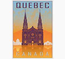 Quebec vintage poster Unisex T-Shirt