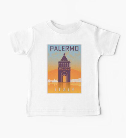 Palermo vintage poster Baby Tee