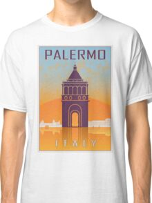 Palermo vintage poster Classic T-Shirt