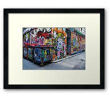 The Graffiti Framed Print